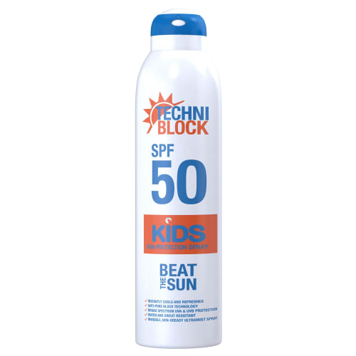 Techniblock SPF 50 Kids Spray