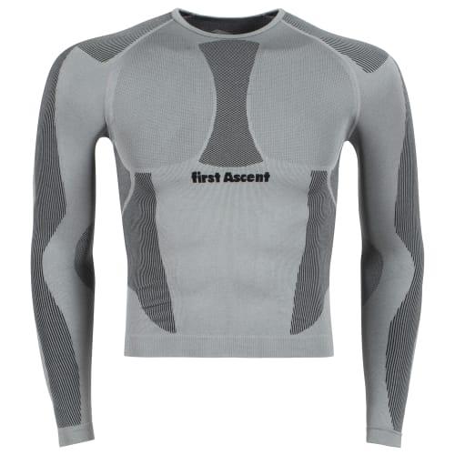 First Ascent Men's Derma-Tec Seamless Long Sleeve Top