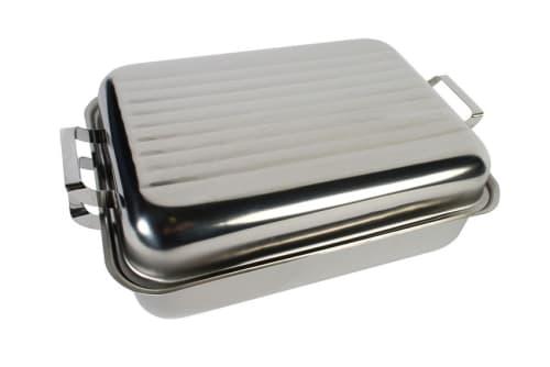 LK's Medium Stainless Steel Roaster