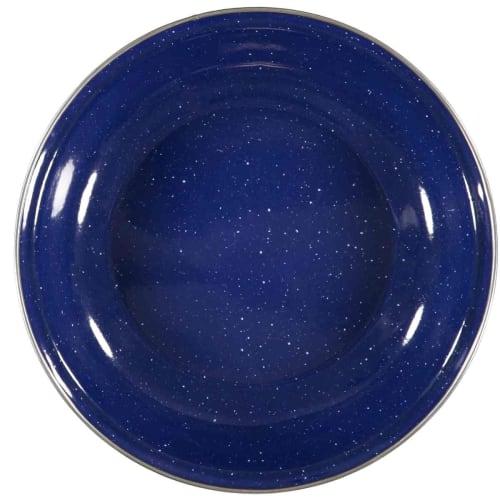 Natural Instincts Blue Enamel Plate
