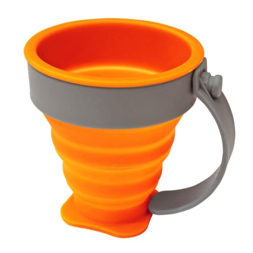 360 Degrees 220ml Silicone Folding Mug