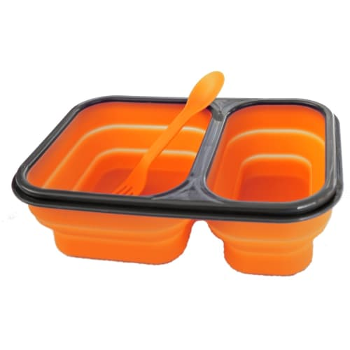 360 Degrees Large Silicone Folding Mess Set