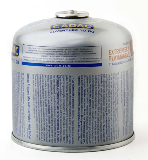Cadac 500g Self Seal Gas Cartridge