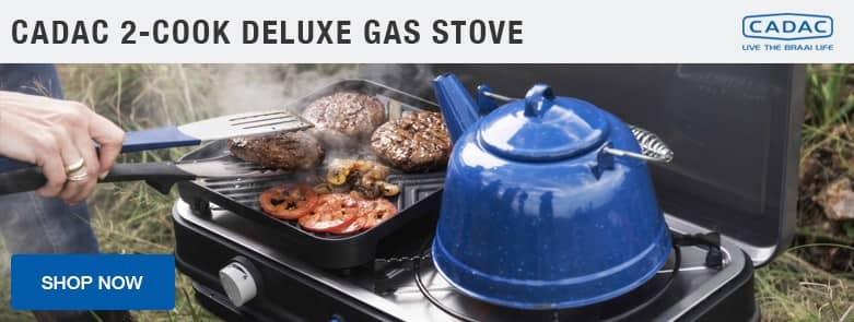 Cadac 2 Cook Deluxe Gas Stove