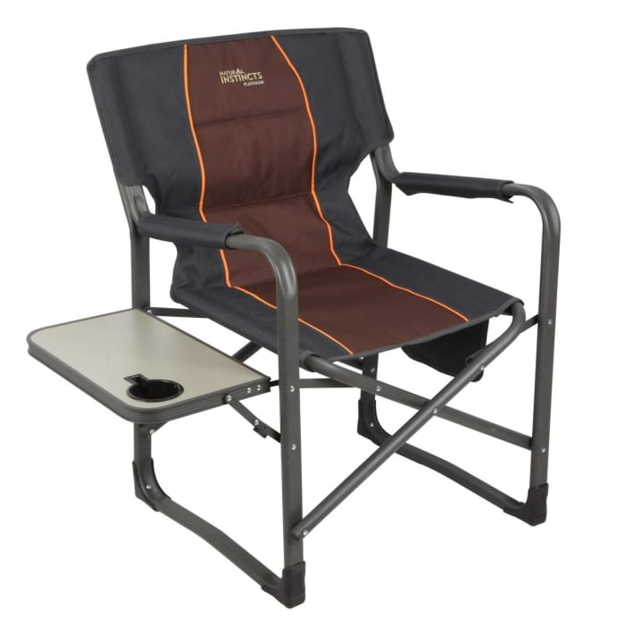Natural Instinct Heavy Duty Director Chair With Pocket