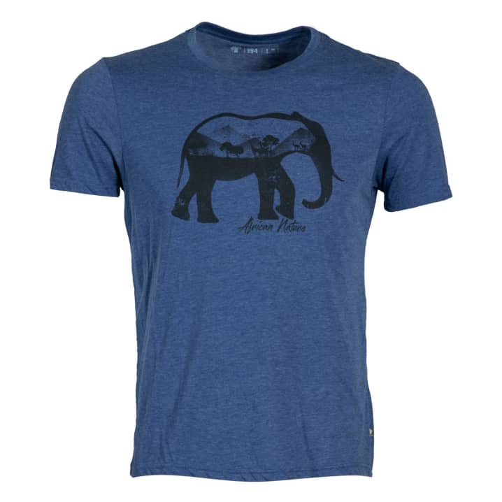 2c36f9c3945747 African Nature Men s Elephant Tee