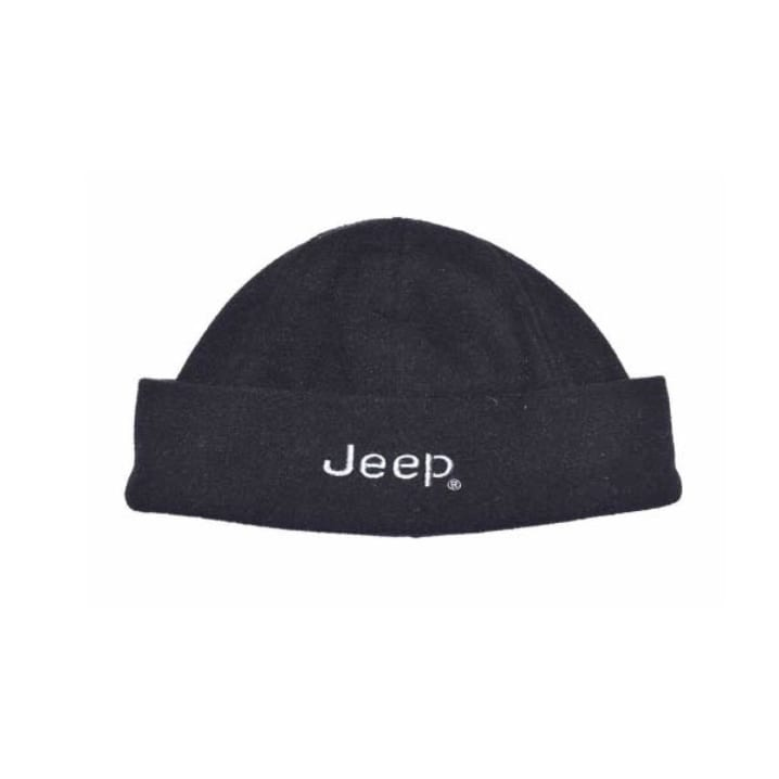 20175b592c0 Jeep Fleece Turn-up Beanie