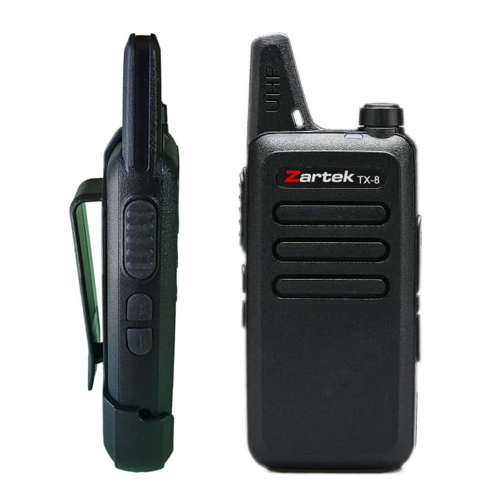 Zartek TX-8 Two-Way Radio Twinpack