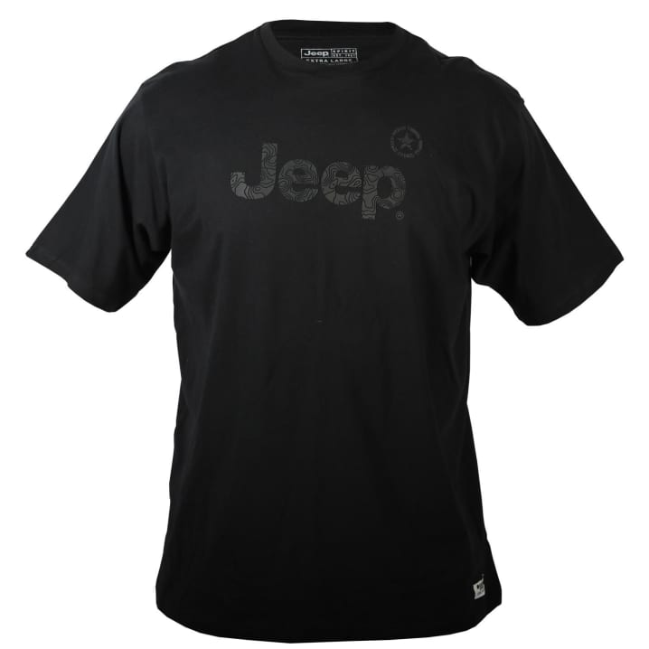 Jeep Men's Contour Logo Tee