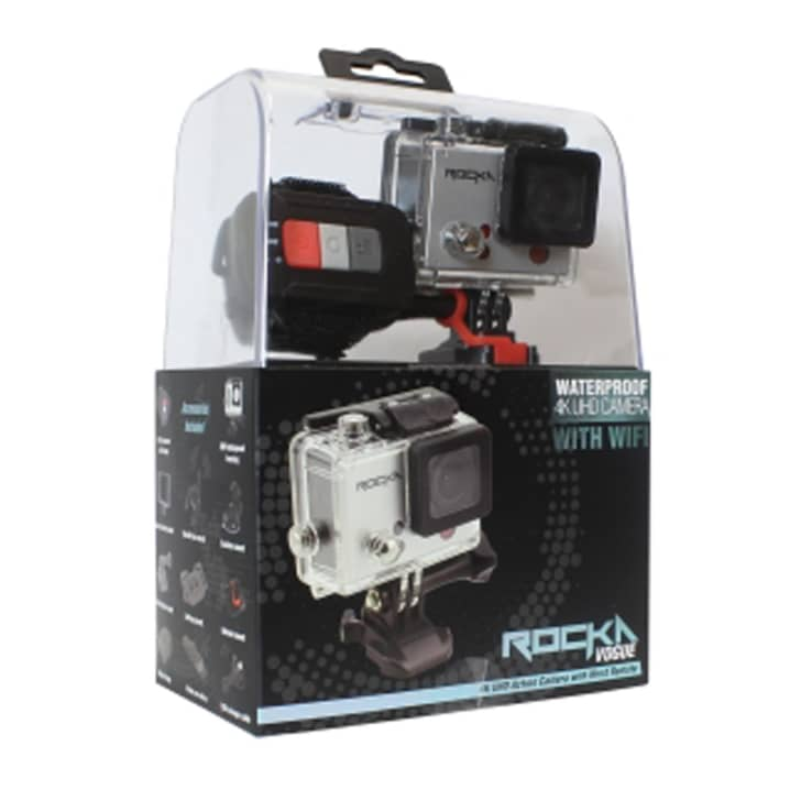 Rocka Vogue 4K UHD Action Camera