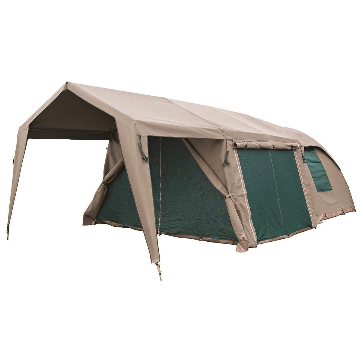 Superb Campmor Safari Senior Bush Combo 2 Canvas 4 Person Dome Tent With Large Extension And Verandah Download Free Architecture Designs Itiscsunscenecom