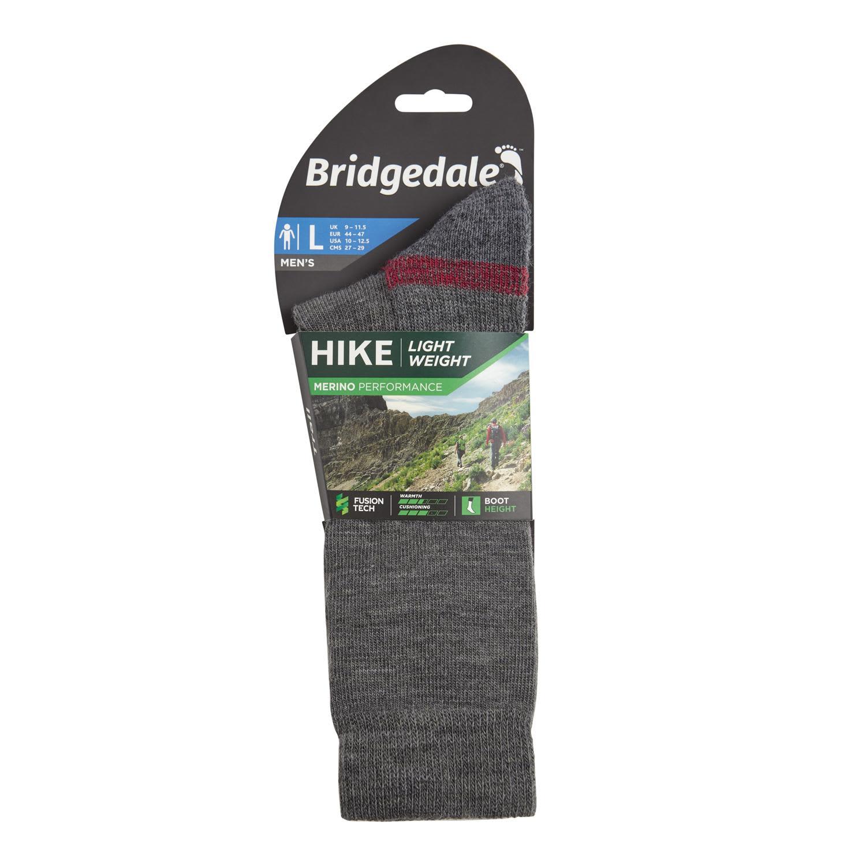 Bridgedale Mens Hike Lightweight Merino Performance Endurance Boot