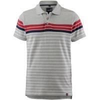 TIMEZONE Poloshirt Herren grey melange stripe