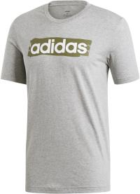 adidas E Lin T-Shirt Herren medium grey heather