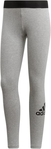 adidas BADGE OF SPORT Leggings Damen medium grey heather