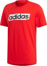 adidas E Lin T-Shirt Herren active red