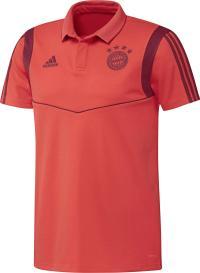 adidas FC Bayern München Poloshirt Herren bright red-active maroon