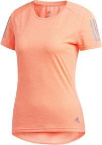 adidas Own the Run Laufshirt Damen glow pink