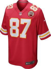 Nike Travis Kelce Kansas City Chiefs American Football Trikot Herren university red