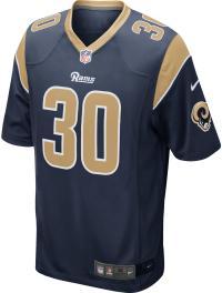Nike Todd Gurley Los Angeles Rams American Football Trikot Herren college navy-club gold-white