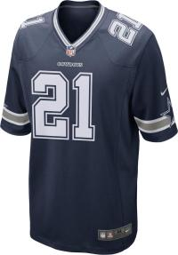 Nike Ezekiel Elliott Dallas Cowboys American Football Trikot Herren college navy