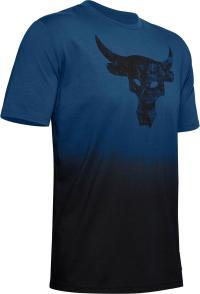Under Armour Project Rock Bull Graphic Funktionsshirt Herren blue