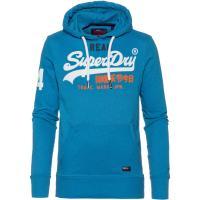 Superdry Vintage Logo Hoodie Herren riviera royal marl