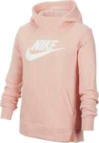 Nike PE Hoodie Mädchen bleached-coral-white