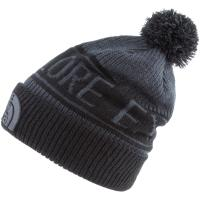The North Face Retro Bommelmütze tnf medium grey heather-tnf black