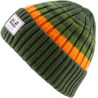 Jack Wolfskin Beanie Jungen antique-green