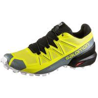 Salomon Speedcross 5 Trailrunning Schuhe Herren Sulphur Spring-black-white
