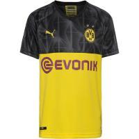 PUMA Borussia Dortmund 19/20 3rd Fußballtrikot Kinder cyber yellow-puma black-ebony