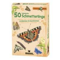 50 HEIMISCHE SCHMETTERLINGE NOPUBLISHER