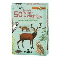 50 HEIMISCHE WALD- & WILDTIERE Kinder NOPUBLISHER