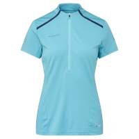 Mammut ATACAZO LIGHT ZIP T-SHIRT Frauen WATERS