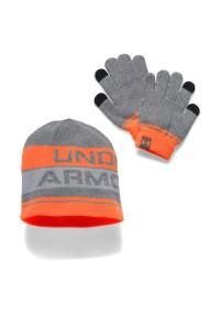 Under Armour Boys Beanie Glove Combo 2.0 Adjustable -