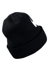 Nike Beanie Swoosh Cuffed - Kopfbedeckung für Herren - Schwarz Schwarz