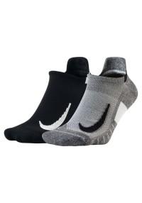 Nike Multiplier No-Show 2 Pair Grau
