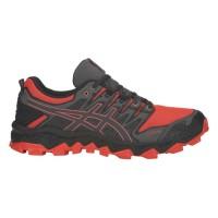 Asics Herren / Running- & Walkingschuhe Trail (Rot / 10) - Running- & Walkingschuhe