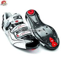 Schuhe Sidi Genius 66 Carbon WeissSchwarz