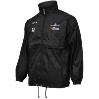 Jacket wasserdicht Giordana Mitchelton Schwarz