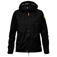 Fjällräven - Women's Keb Eco-Shell Jacket - Hardshelljacke Gr L;M;S;XS blau/schwarz;schwarz;rot Blac