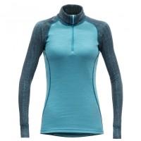 Devold - Duo Active Woman Zip Neck - Merinounterwäsche Gr L;M;S;XL;XS türkis/blau;schwarz;lila/rosa