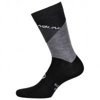 Nalini - Crit Socks - Radsocken Gr L/XL;S/M;XXL schwarz/grau Schwarz