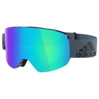 adidas eyewear - Backland S3 (VLT 13%) - Skibrille türkis/blau Raw Steel Matt