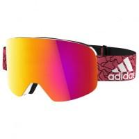 adidas eyewear - Backland S3 (VLT 17%) - Skibrille rosa/orange/rot;türkis/blau White Matt