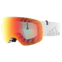 adidas eyewear - Backland Spherical S3 (VLT 17%) - Skibrille grau/orange/rot
