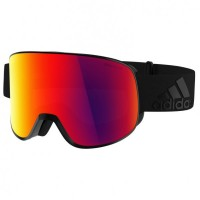 adidas eyewear - Progressor C Polarized S3 (VLT 17%) schwarz/rot Black Matt