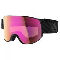 adidas eyewear - Progressor C S1-3 (VLT 13-62%) - Skibrille rosa/schwarz Black Matt
