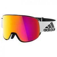 adidas eyewear - Progressor C S3 (VLT 17%) - Skibrille grau/orange/rot;rosa/orange Black White Shiny